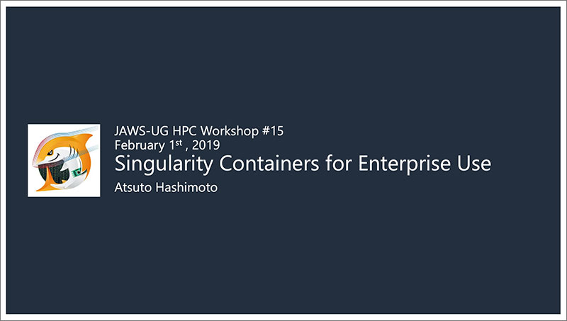 Singularity Containersfor-EnterpriseUse
